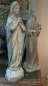 Preview: Madonna Maria Figur Kreuz French Vintage