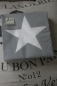 Preview: Serviette grey white star - Stern - Ambiente -