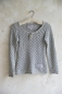 Preview: Pulli Stick Bluse light grey M/L
