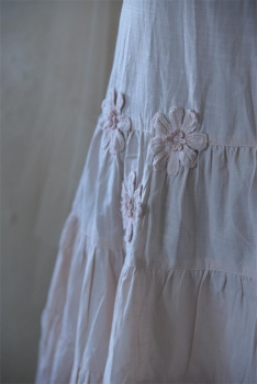 Vintage Kleid Brocante Flowers powder - rose JDL