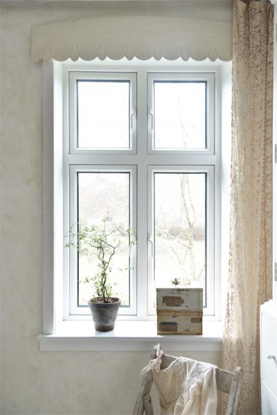 Fensterfries  Metall offwhite 110 cm