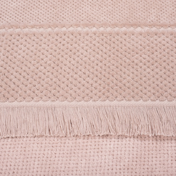 Badserie SPA Handtuch Badetuch Velour dusty rose