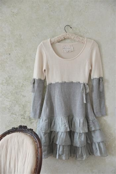 Kleid joyous dream cream grey