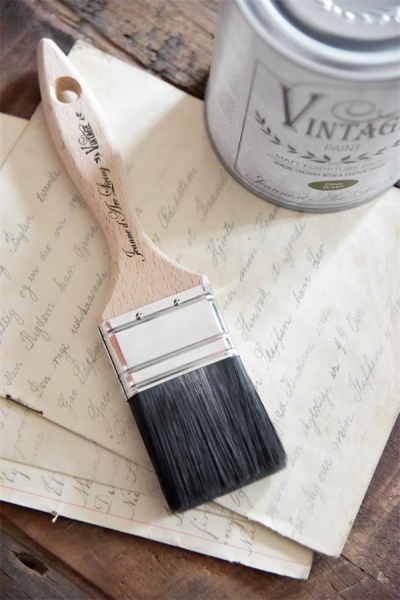 flacher Pinsel Farbe VINTAGE PAINT - 2""