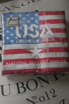 Servietten AMERICAN DREAM