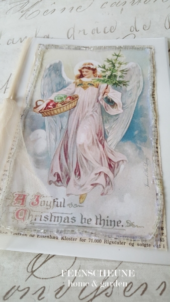 angel christmas card jeanne d arc living