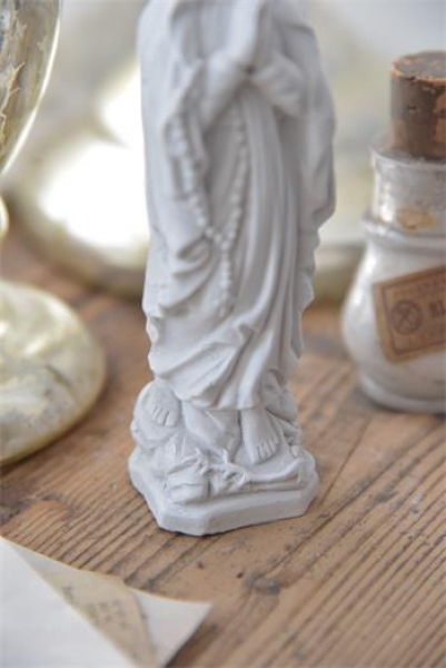 Madonna  Maria weiss shabby chic 14cm