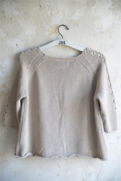 Pullover Stick light grey