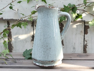 Krug Vase antique opal finish H. 24 cm