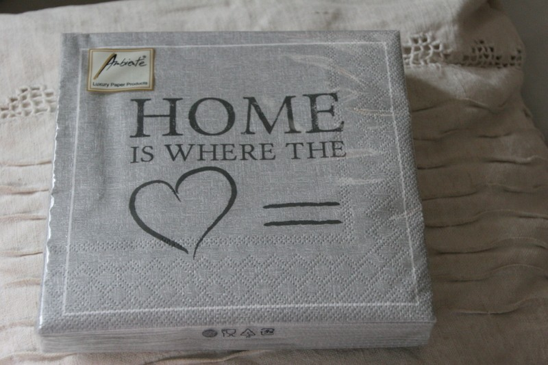 Servietten ELEGANCE HOME grey  Ambiente