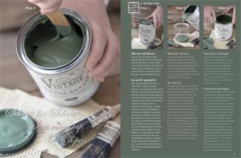Vintage Paint Magazin Instruction Guide