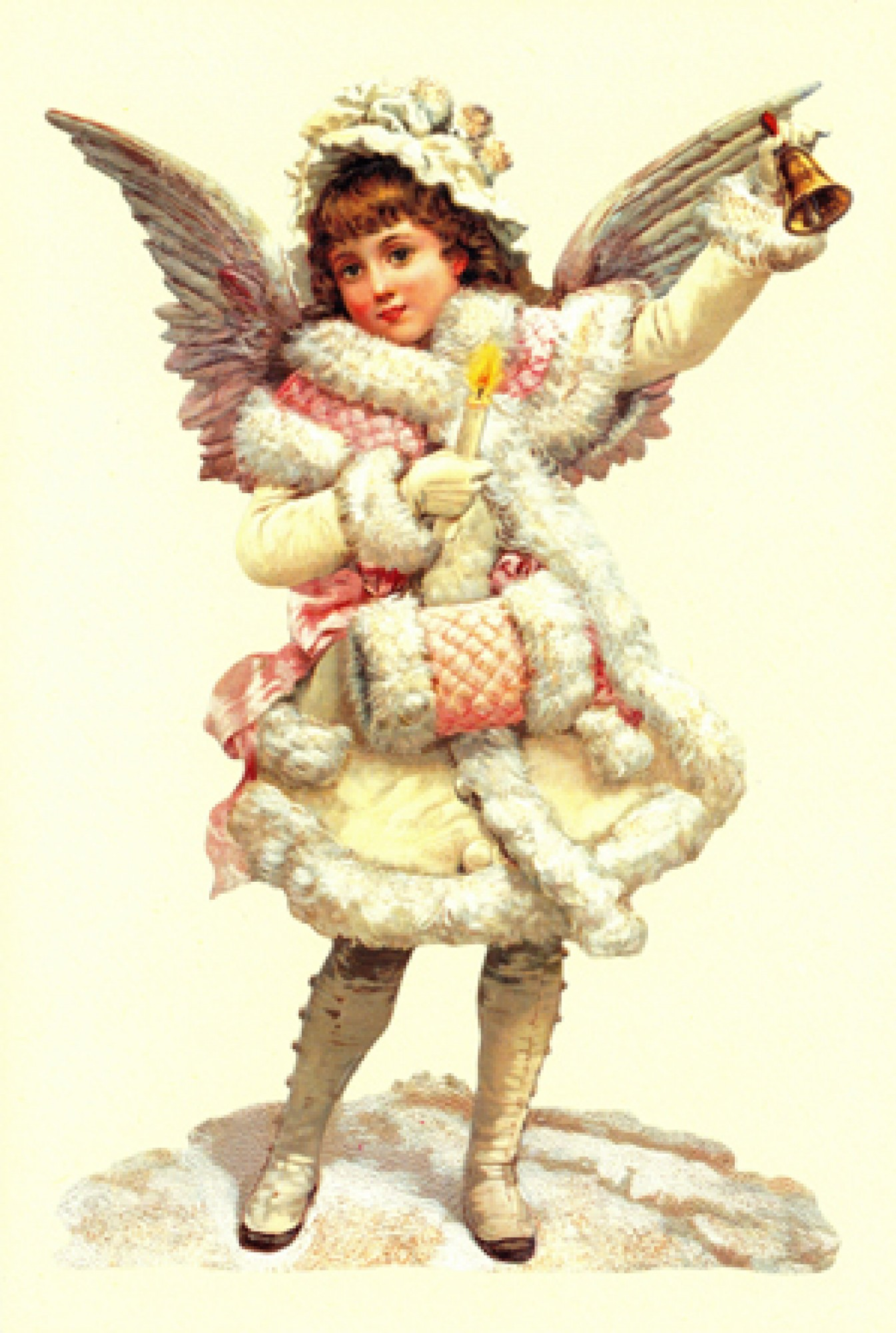angel, christmas, card